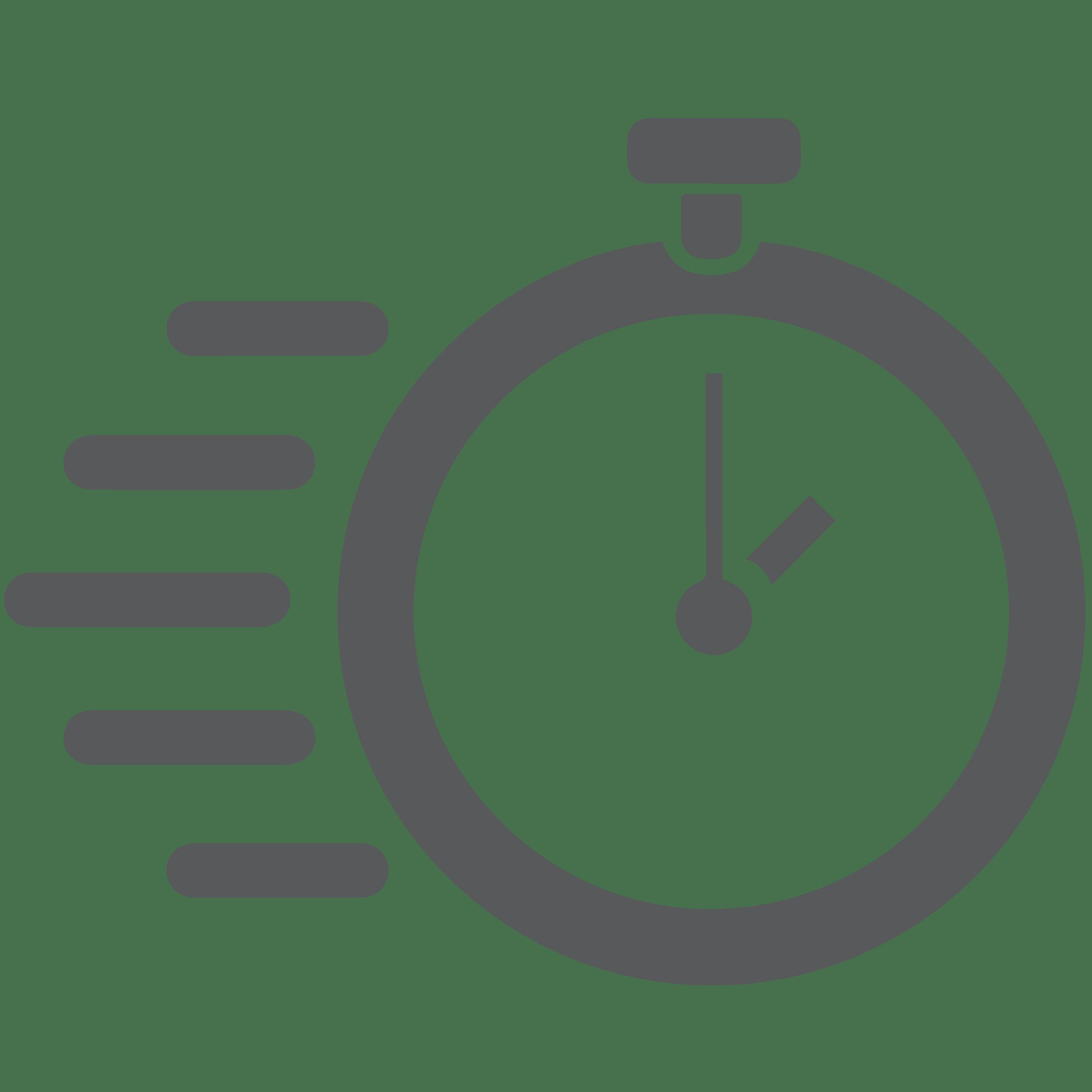Speed stopwatch icon